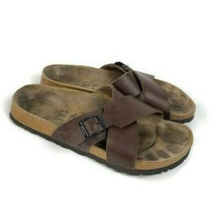 Birki's Birkenstock Santosa Sandals Cross Strap